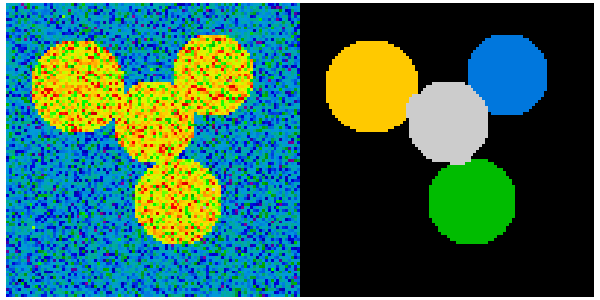 2 6 8 24  Segmentation with spectral clustering — Scipy